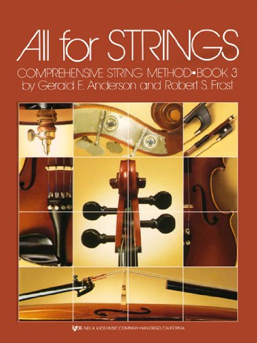 All for Strings : Bk. 3: Cello N/A edition cover