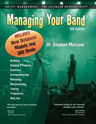Managing Your Band  5th 2010 (Revised) edition cover