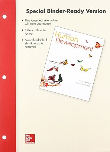 Looseleaf for Experience Human Development  13th 2015 9781259564062 Front Cover