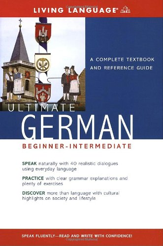 Ultimate German Beginner-Intermediate  Large Type  edition cover