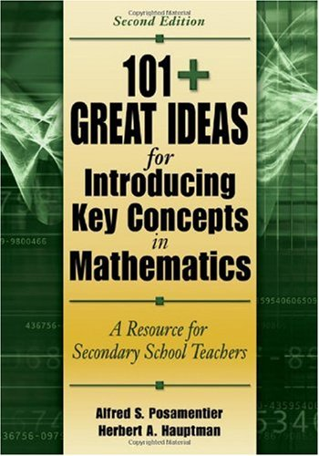 101+ Great Ideas for Introducing Key Concepts in Mathematics A Resource for Secondary School Teachers 2nd 2006 (Revised) edition cover