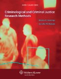 Criminological and Criminal Justice Research Methods   2014 edition cover