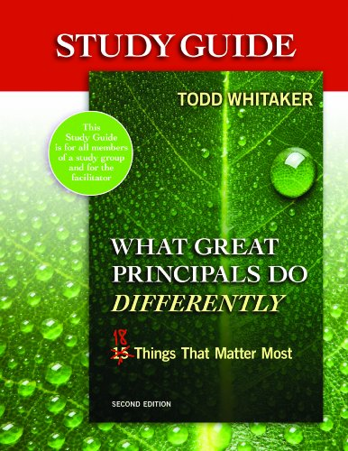 What Great Principals Do Differently  2nd 2012 (Revised) edition cover