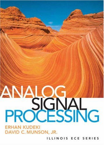 Analog Signals and Systems   2009 edition cover