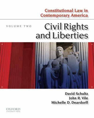 Constitutional Law in Contemporary America Civil Rights and Liberties N/A edition cover