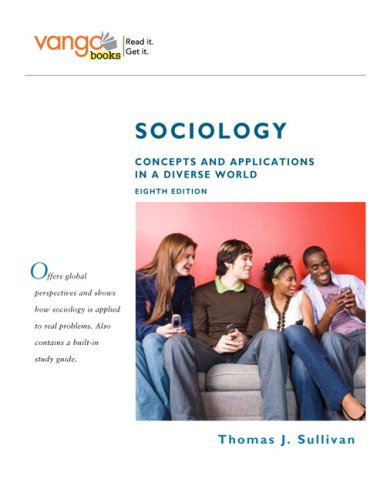 Sociology Concepts and Applications in a Diverse World 8th 2009 edition cover