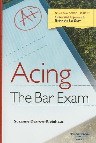 Darrow's Acing the Bar Exam (Acing Series)   2008 edition cover