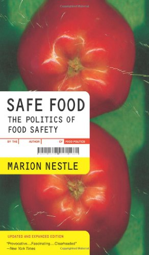 Safe Food The Politics of Food Safety 2nd 2010 (Revised) edition cover