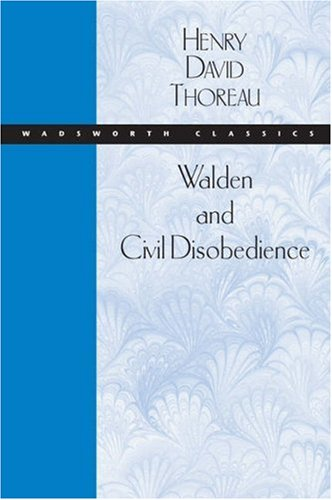 Walden and Civil Disobedience   2005 9780534522063 Front Cover