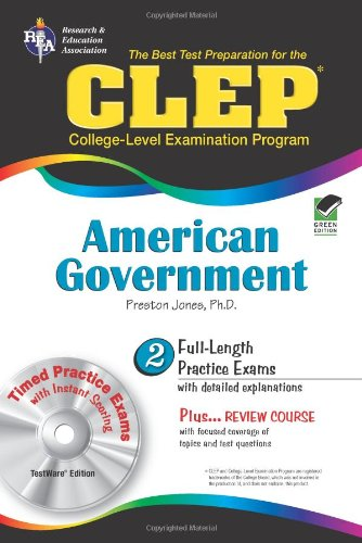 CLEP American Government  N/A 9780738603063 Front Cover