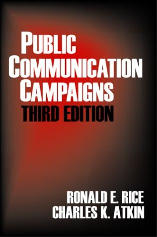 Public Communication Campaigns  3rd 2000 (Revised) 9780761922063 Front Cover