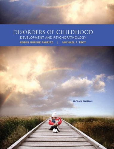 Disorders of Childhood: Development and Psychopathology 2nd 2013 edition cover