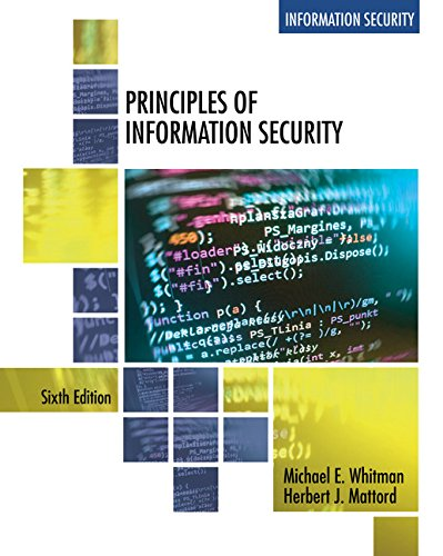 Principles of Information Security:   2017 9781337102063 Front Cover