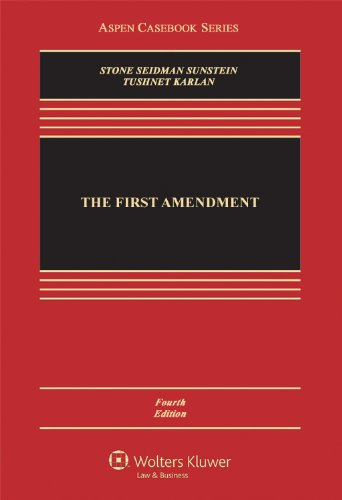 First Amendment  4th 2012 (Revised) edition cover