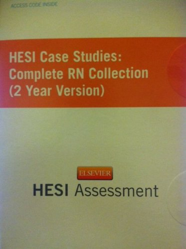 HESI Case Studies Complete RN Collection (2 Year Version) N/A edition cover