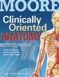 Moore Clinically Oriented Anatomy 7E Text and Moore's Clinical Anatomy Review, Powered by PrepU Package   2014 edition cover