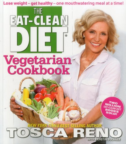 Eat Clean Diet Vegetarian Cookbook  N/A 9781552101063 Front Cover