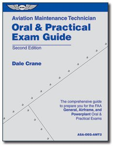 Aviation Maintenance Technician Oral and Practical Exam Guide  2nd 2000 edition cover