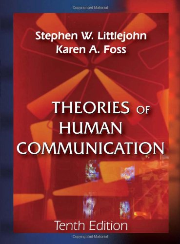 Theories of Human Communication  10th 2010 edition cover