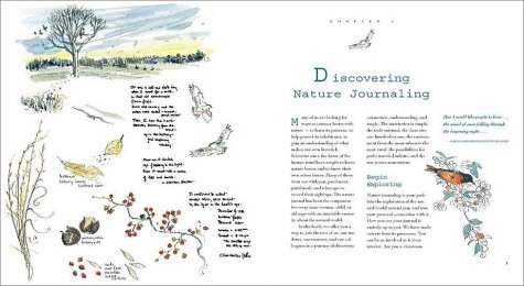 Keeping a Nature Journal Discover a Whole New Way of Seeing the World Around You  2000 edition cover