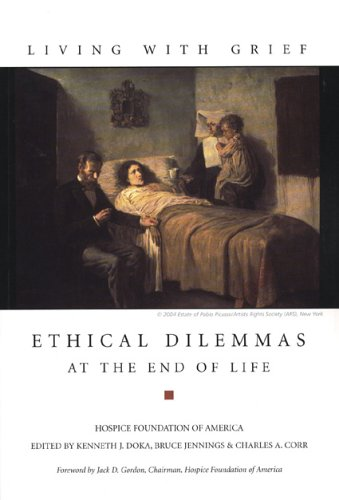 Living with Grief : Ethical Dilemmas at the End of Life  2005 edition cover