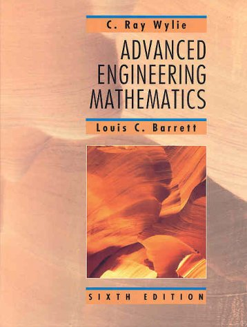 Advanced Engineering Mathematics  6th 1995 (Large Type) edition cover