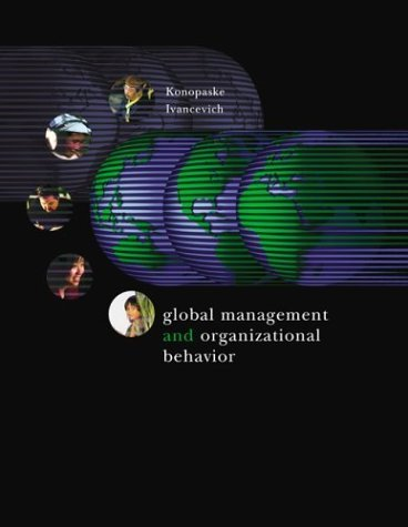 Global Management and Organizational Behavior Text, Readings, Cases, and Exercises  2004 edition cover