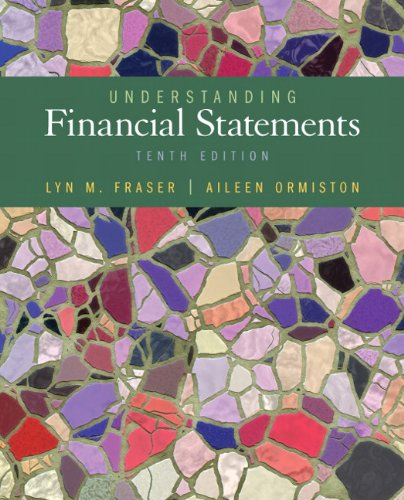 Understanding Financial Statements  10th 2013 (Revised) edition cover