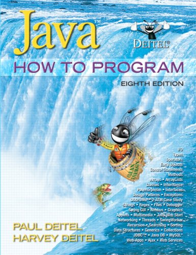 Java How to Program Early Objects Version 8th 2010 edition cover