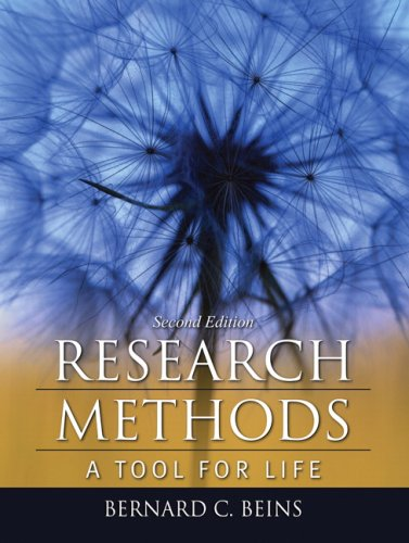 Research Methods A Tool for Life 2nd 2009 edition cover