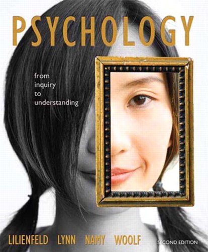 Psychology From Inquiry to Understanding 2nd 2011 edition cover