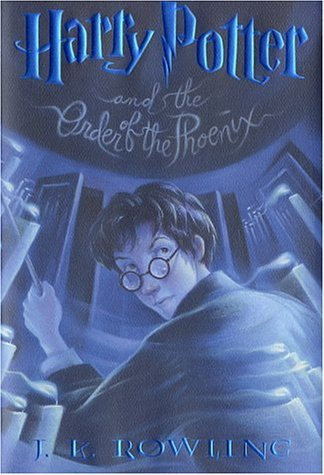 Harry Potter and the Order of the Phoenix   2003 9780439358064 Front Cover