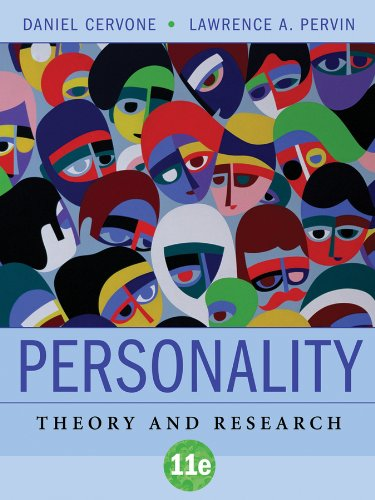 Personality Theory and Research 11th 2010 edition cover