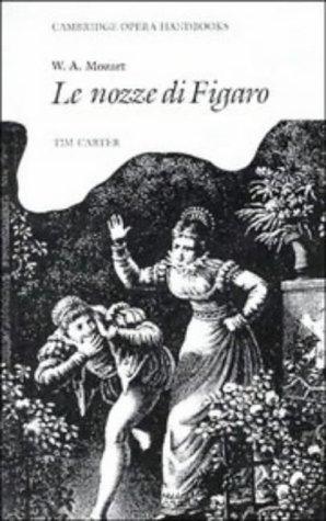 W. A. Mozart Le Nozze Di Figaro  1987 edition cover