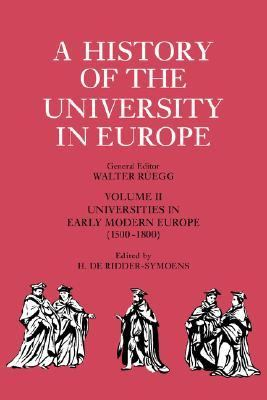 Universities in Early Modern Europe, 1500-1800   1996 9780521361064 Front Cover