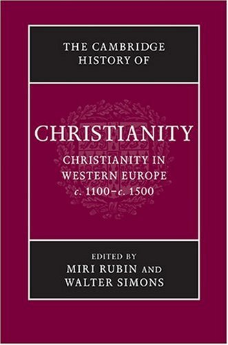 Christianity in Western Europe, C.1000-C.1500   2009 9780521811064 Front Cover