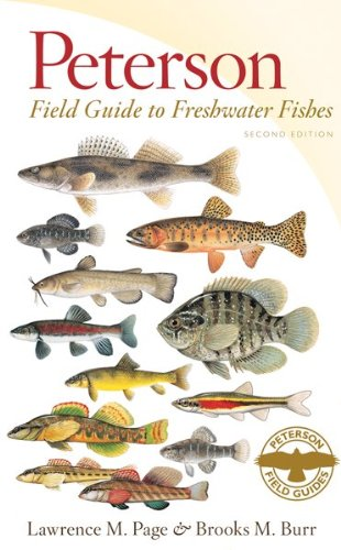 Peterson Field Guide to Freshwater Fishes, Second Edition  2nd 2011 edition cover