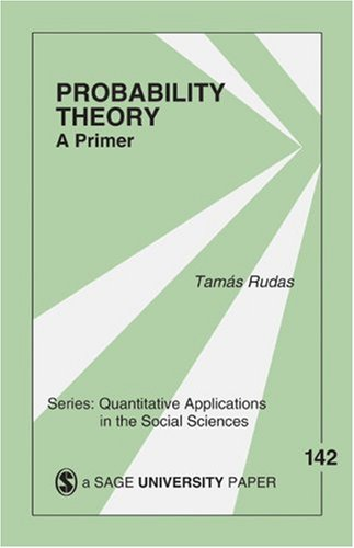 Probability Theory A Primer  2004 edition cover
