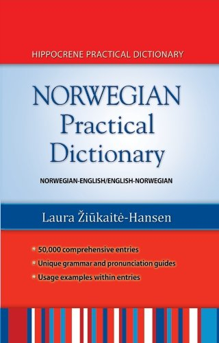Norwegian-English - English-Norwegian Practical Dictionary   2010 edition cover