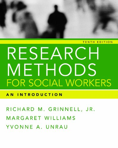 RESEARCH METHODS FOR SOCIAL WO N/A edition cover
