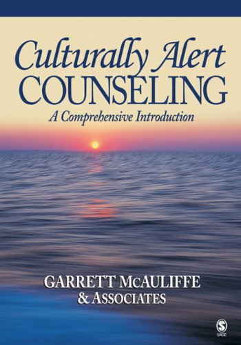 Culturally Alert Counseling A Comprehensive Introduction  2008 edition cover