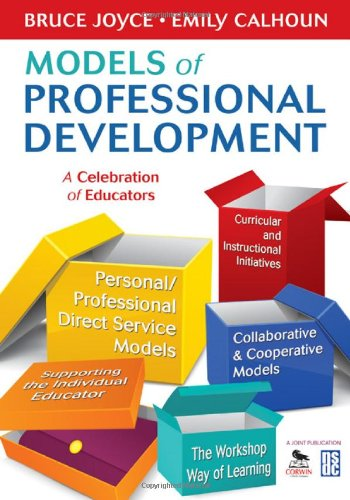 Models of Professional Development A Celebration of Educators  2010 edition cover