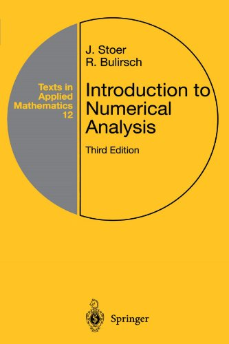 Introduction to Numerical Analysis  3rd 2002 edition cover