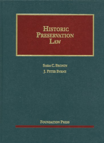 Historic Preservation Law   2012 edition cover