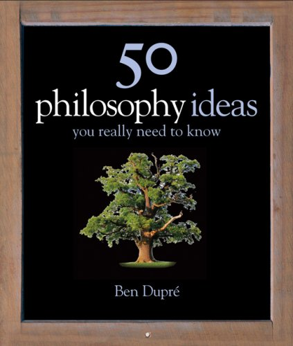 50 Philosophy Ideas You Really Should Know (Ideas You Really Need to Know) N/A edition cover
