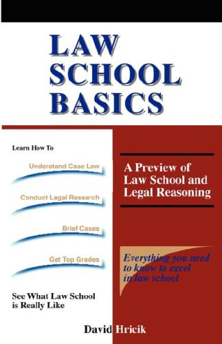 Law School Basics  N/A edition cover