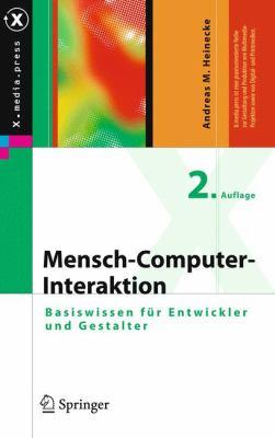 Mensch-Computer-Interaktion  2nd 2012 edition cover