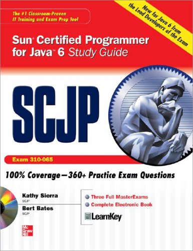 SCJP Sun Certified Programmer for Java 6 Exam 310-065  2008 (Student Manual, Study Guide, etc.) edition cover