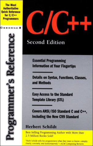 C++ Programmer's Reference 2nd 2000 edition cover