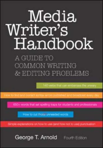 Media Writer's Handbook  4th 2007 (Revised) edition cover